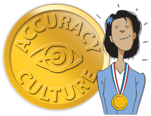 Accuracy Culture Medal