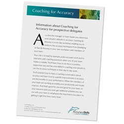 Coaching for Accuracy